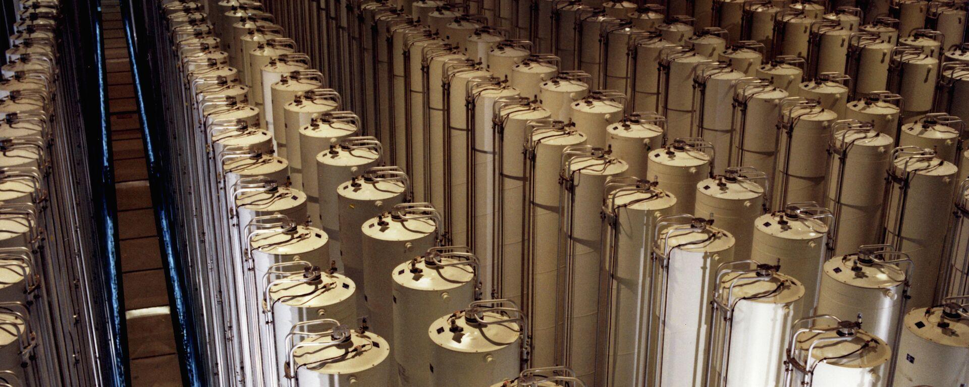 Centrifugadoras de gas para enriquecimiento de uranio (Archivo) - Sputnik Mundo, 1920, 30.03.2021