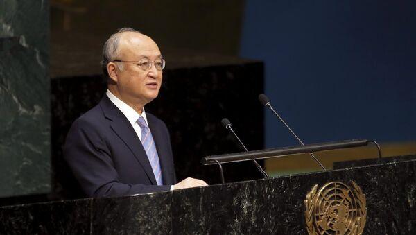 Yukiya Amano, director del Organismo Internacional de Energía Atómica (OIEA) - Sputnik Mundo