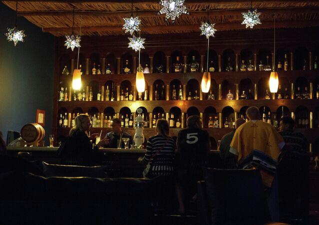 Bar en México