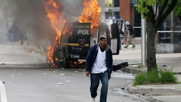 Protesta en Baltimore - Sputnik Mundo