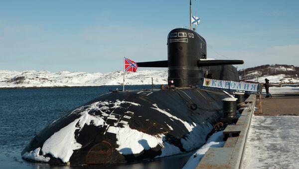 Submarino estratégico atómico Karelia - Sputnik Mundo