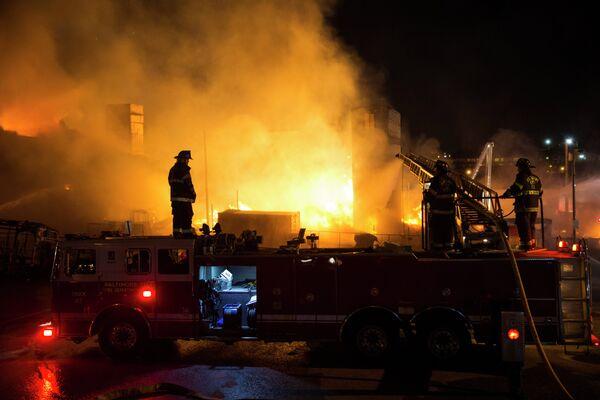 Disturbios en Baltimore - Sputnik Mundo