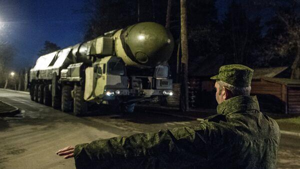 Sistema de misiles balísticos intercontinentales Tópol - Sputnik Mundo