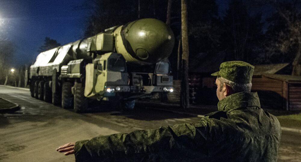 Sistema de misiles balísticos intercontinentales Tópol