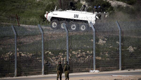 Frontera israelí-siria en los Altos del Golán - Sputnik Mundo
