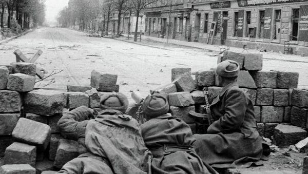 Recuerdan el 70º aniversario de la Victoria sobre la Alemania nazi en México - Sputnik Mundo