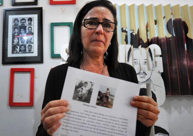 Angelita Muxfeldt, prima de Rodrigo Muxfeldt Gularte