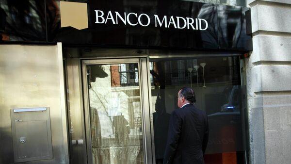 Banco Madrid - Sputnik Mundo