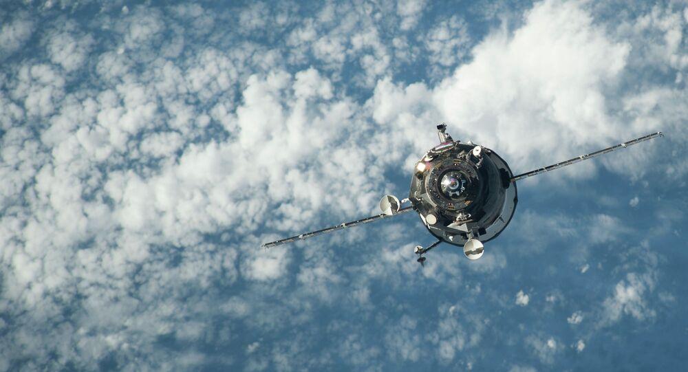 Carguero espacial Progress
