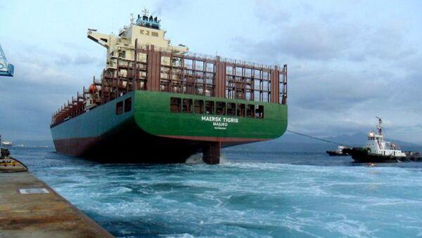 Maersk Tigris - Sputnik Mundo
