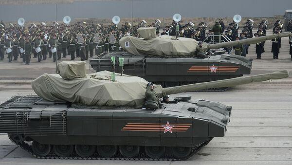 Tanques Armata - Sputnik Mundo