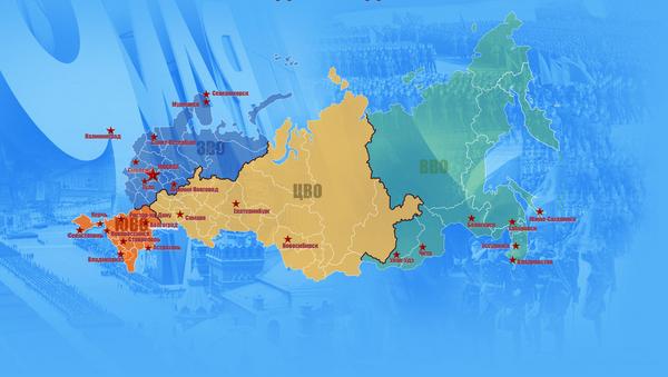 Mapa de los desfiles de la Victoria - Sputnik Mundo