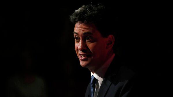 Ed Miliband, líder del partido Laborista británico - Sputnik Mundo