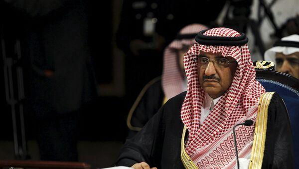 Mohamed bin Nayef - Sputnik Mundo