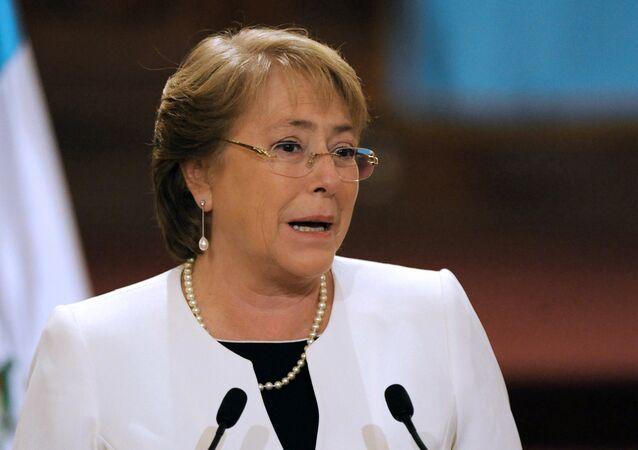 Michelle Bachelet, presidenta de Chile (archivo)