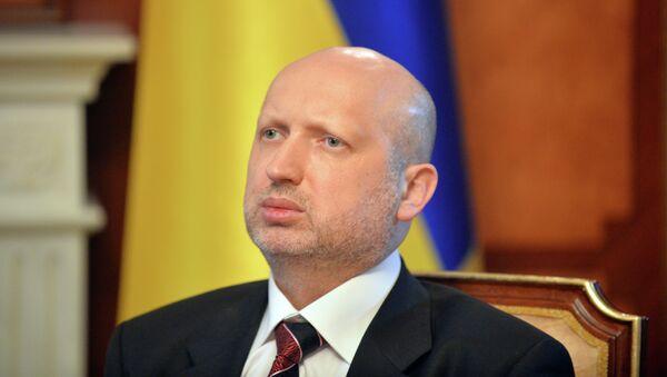 Olexandr Turchínov, secretario del Consejo de Seguridad Nacional y Defensa de Ucrania - Sputnik Mundo