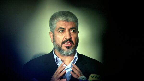 Jaled Meshal, líder del grupo palestino islámico Hamás - Sputnik Mundo