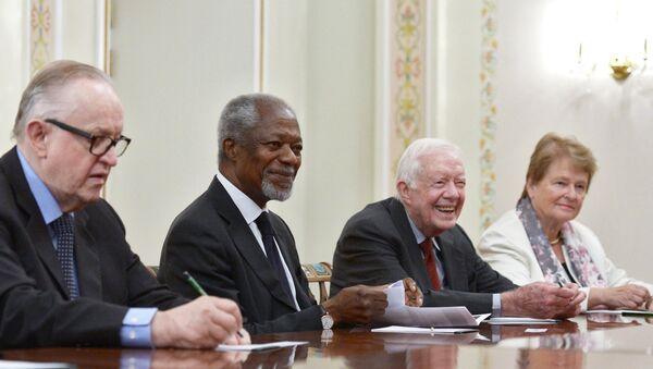 Президент РФ В.Путин принял представителей группы старейшин - Sputnik Mundo
