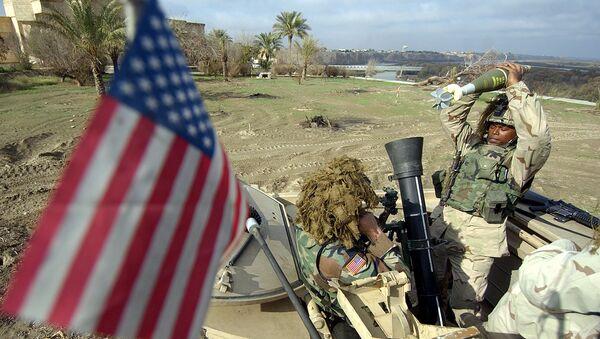 Militares estadounidenses en Irak, 2003 - Sputnik Mundo