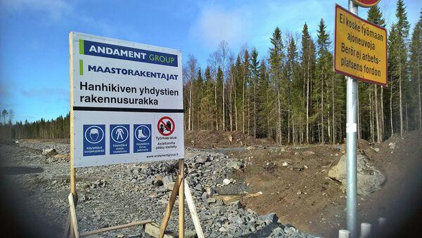 Construcción de la Central Nuclear (CEN) Hanhikivi-1 en Finlandia - Sputnik Mundo