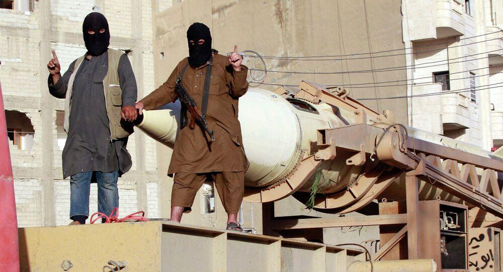 Combatientes del grupo Daesh