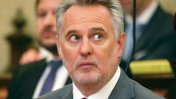 Dmytro Firtash, one of Ukraine's most influential oligarchs, appears in court in Vienna, Austria, April 30, 2015 - Sputnik Mundo