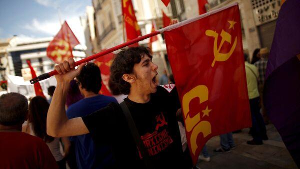 Primero de Mayo en España - Sputnik Mundo