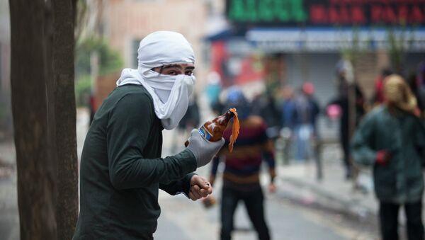 Manifestaciones en Estambul - Sputnik Mundo