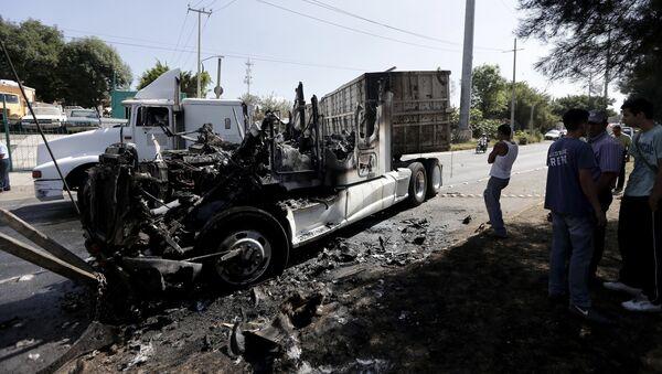 Bloqueos de autopistas alrededor de Guadalajara - Sputnik Mundo