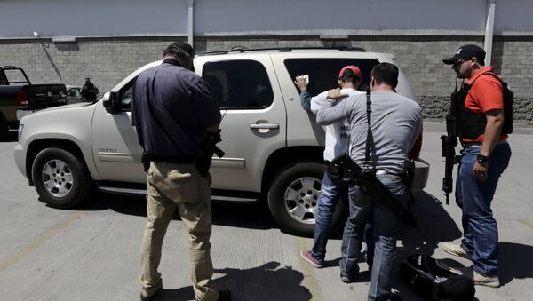 Policía de México en Guadalajara - Sputnik Mundo
