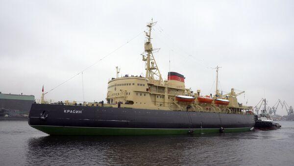 Rompehielos-museo Krasin - Sputnik Mundo