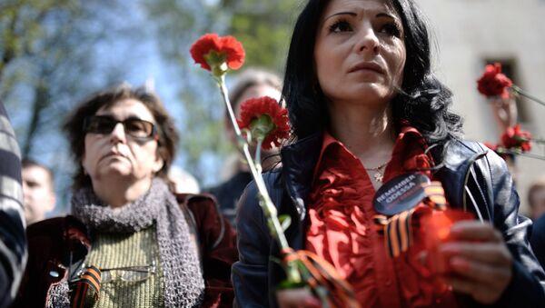 Acto conmemorativo en Odesa - Sputnik Mundo