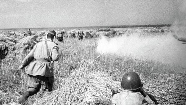 Soldados soviéticos (archivo) - Sputnik Mundo