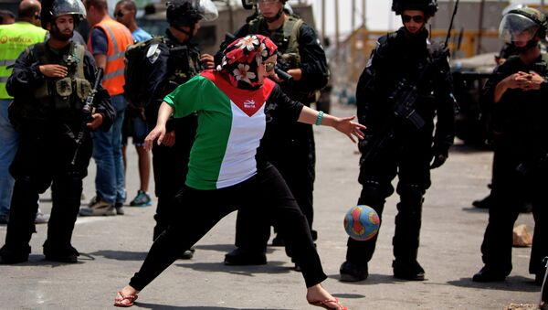Fútbol en Palestina - Sputnik Mundo