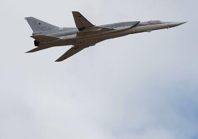 Bombarderos estratégicos Tu-22M3 (imagen referencial)