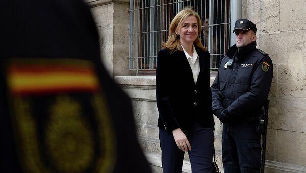 Cristina de Borbón y Grecia (Archivo) - Sputnik Mundo