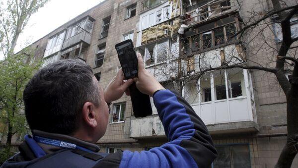 Observador de la OSCE - Sputnik Mundo