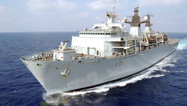 HMS Bulwark - Sputnik Mundo