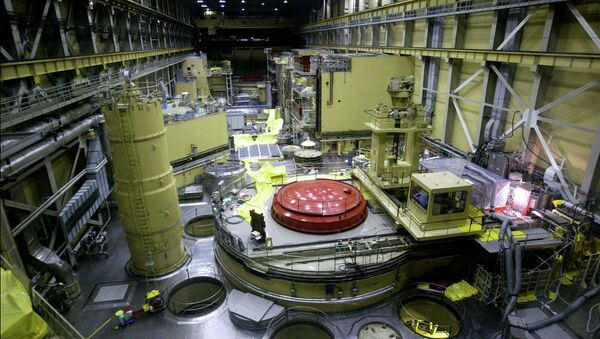 A general view of the reactor block No.2 in the nuclear power station of Paks at about 120kms south from Hungarian capital Budapest on Thursday 29 May 2003 - Sputnik Mundo