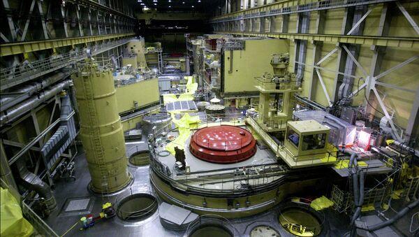 Vista general del bloque del reactor Nº 2 en el central nuclear Paks - Sputnik Mundo