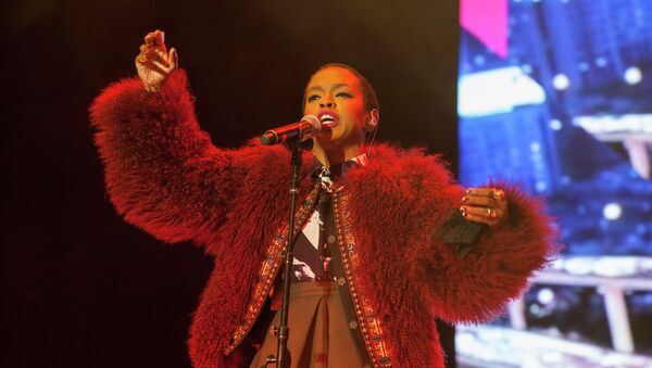 Lauryn Hill, cantante estadounidense - Sputnik Mundo
