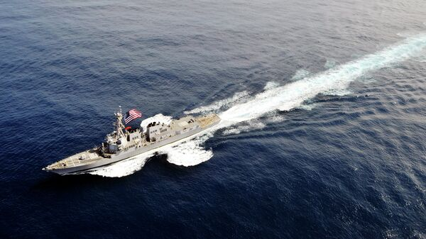 USS Winston Churchill (DDG 81) - Sputnik Mundo
