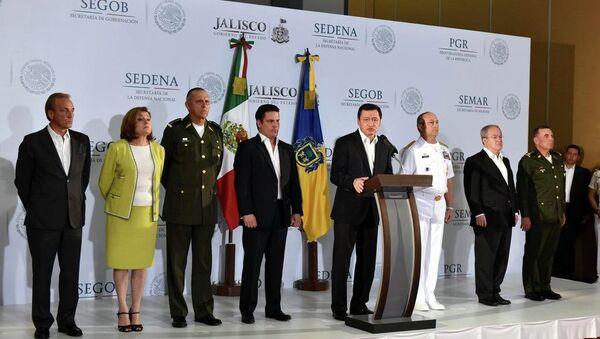 El Gral de División DEM, Miguel Gustavo González Cruz coordinará la Operación Jalisco - Sputnik Mundo