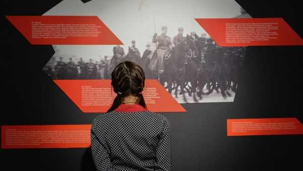 Открытие выставок во Всероссийском музее декоративно-прикладного и народного искусства - Sputnik Mundo