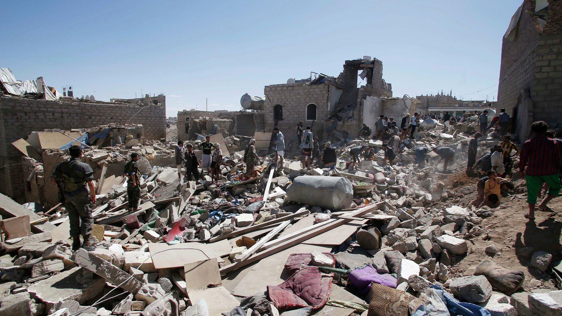 Situación en Yemen  - Sputnik Mundo, 1920, 27.05.2021