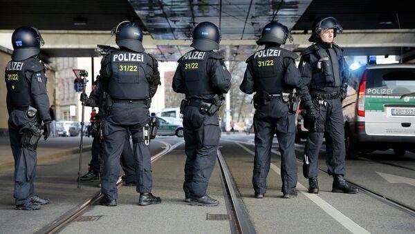 Policía alemana (Archive) - Sputnik Mundo