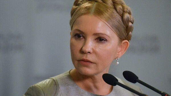 Yulia Timoshenko, ex primera ministra de Ucrania - Sputnik Mundo