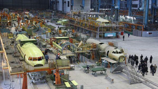 Fabricante ucraniano de aviones Antónov (Archive) - Sputnik Mundo