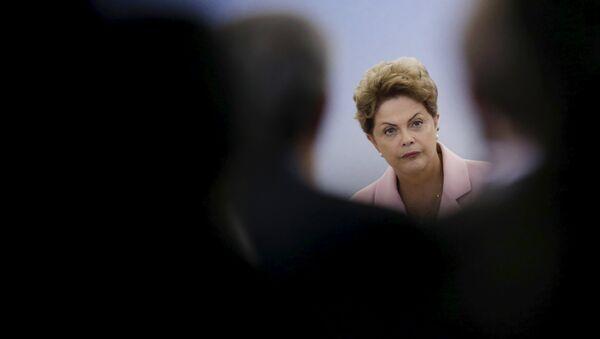 Dilma Rousseff, presidenta de Brasil (archivo) - Sputnik Mundo