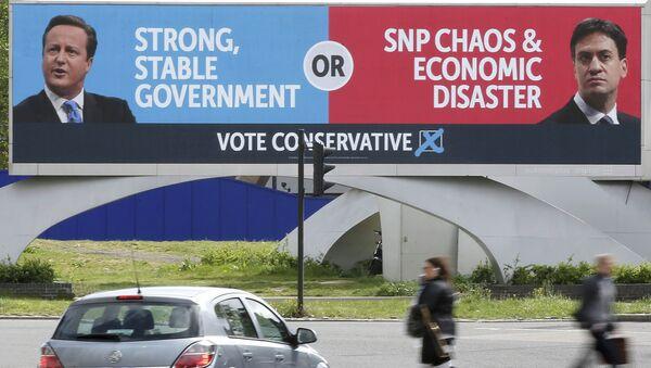 Elecciones generales del Reino Unido de 2015 - Sputnik Mundo